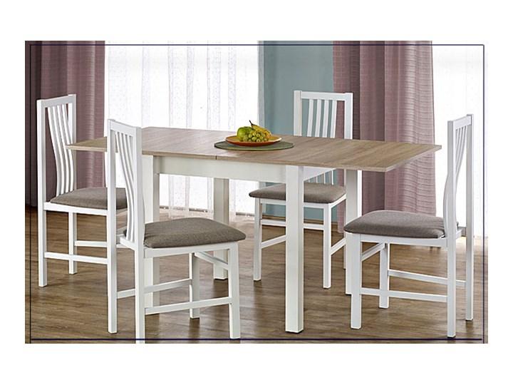 Rozkładany stół kuchenny Cubires - olcha Wysokość 76 cm Długość 80 cm  Drewno Rozkładanie Szerokość 80 cm Pomieszczenie Stoły do kuchni