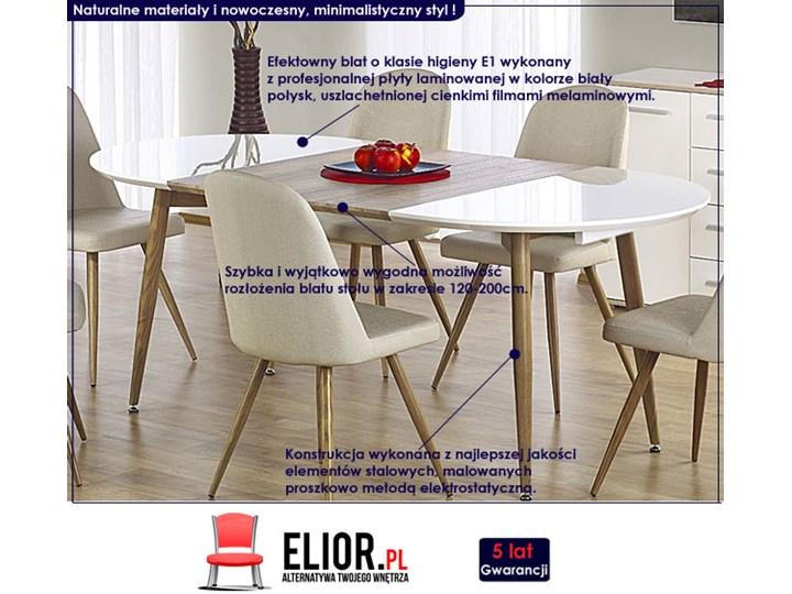 Rozkładany stół do kuchni i jadalni Ebis Wysokość 75 cm Szerokość 100 cm Długość 120 cm  Drewno Pomieszczenie Stoły do kuchni Pomieszczenie Stoły do jadalni