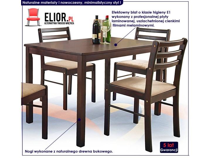 Stół z krzesłami Delris Pomieszczenie Jadalnia