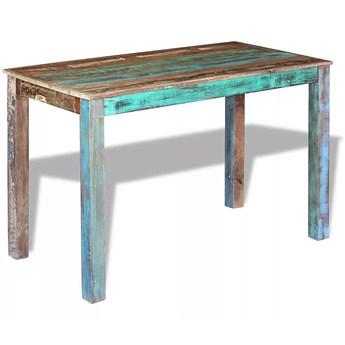 Stół do jadalni w stylu vintage Mafos – wielokolorowy