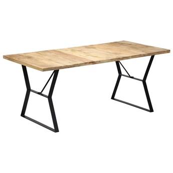 Stół jadalniany z drewna mango Vanil – brązowy