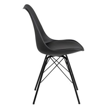 Krzesło czarne Lindi