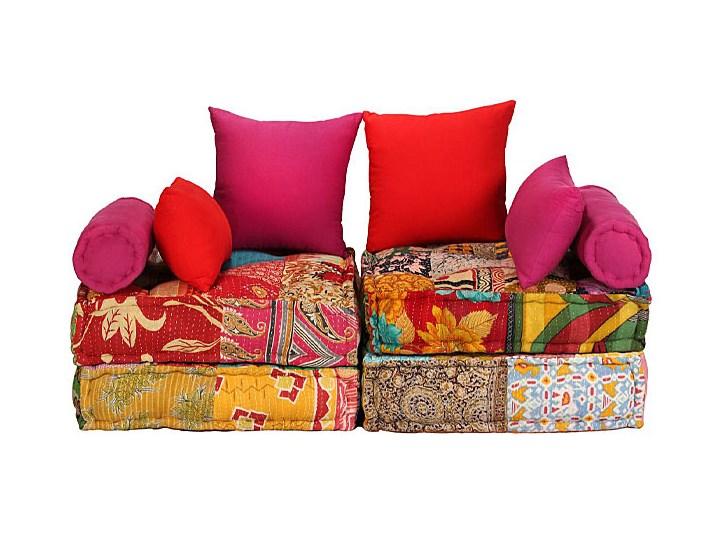 Modułowa sofa patchwork Demri 2D Szerokość 70 cm Modułowe Styl Vintage Boki Z bokami
