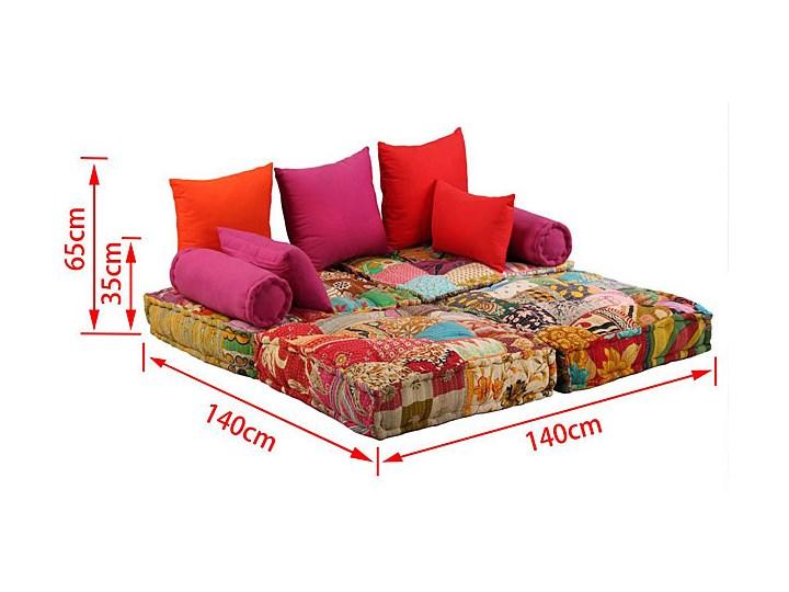 Modułowa sofa patchwork Demri 2D Szerokość 70 cm Modułowe Typ Gładkie