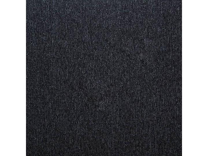 Efektowne tapicerowane łóżko Welles – szare Łóżko tapicerowane Pojemnik na pościel Bez pojemnika Kolor Czarny
