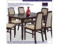 Stół rozkładany Dires - ciemny orzech Wysokość 75 cm Szerokość 80 cm Długość 150 cm  Styl Klasyczny