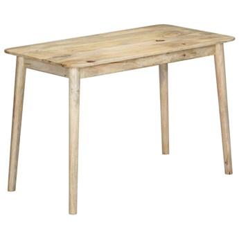 Bielony stół z drewna mango Kelis – naturalny