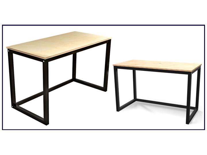Minimalistyczne biurko drewniane Inelo T3 Głębokość 50 cm Drewno Biurko tradycyjne Szerokość 100 cm Kategoria Biurka