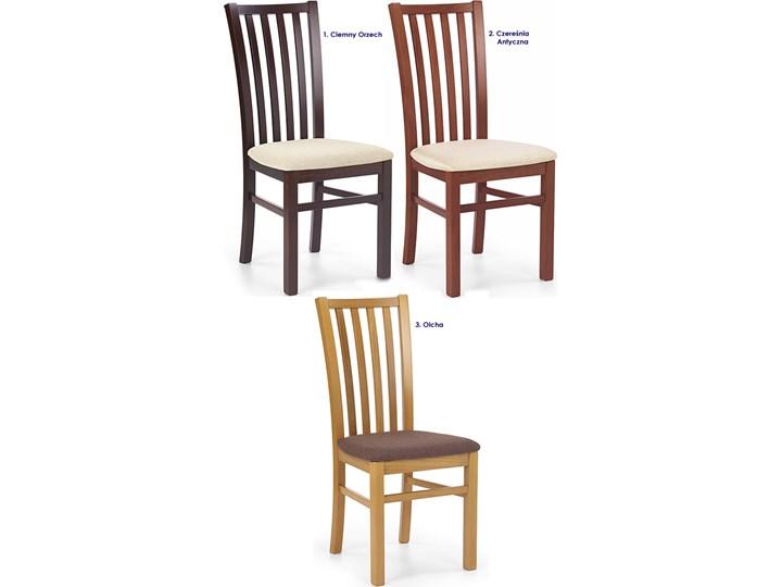 Drewniane krzesło patyczak Billy - ciemny orzech