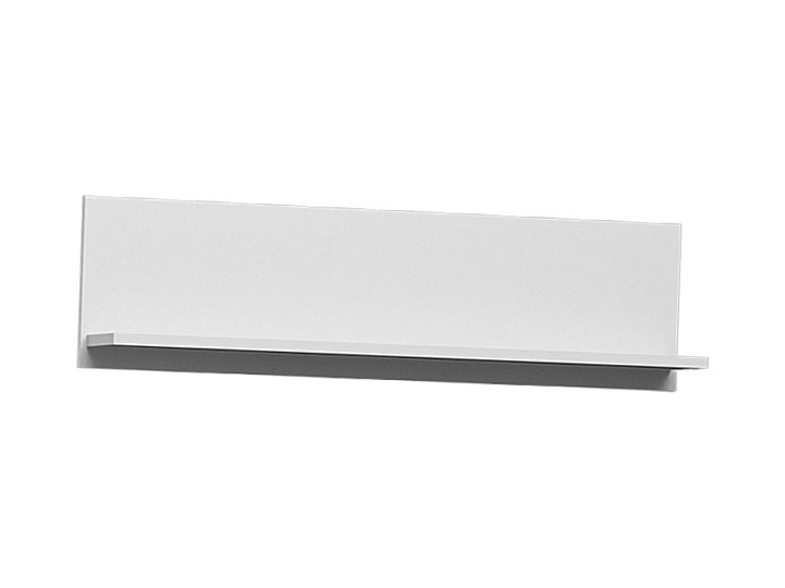 Biała meblościanka z szafą Pixelo 4X Kolor Biały