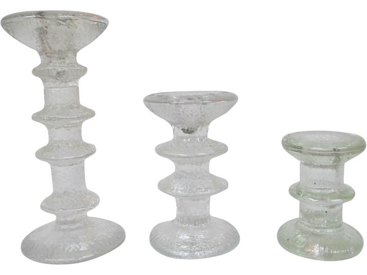 Komplet trzech świeczników, lata 70.