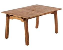 Stół rozkładany ogrodowy Hemming 160x100 cm naturalny