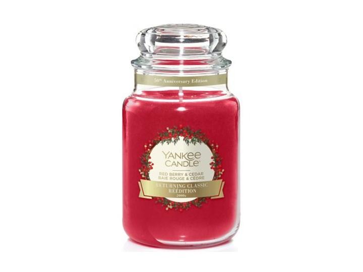 Świeca zapachowa Yankee Candle Red Berry & Cedar