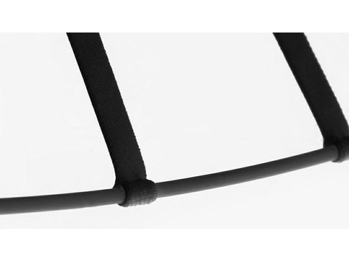 Lampa Capello z wygiętym kloszem insp. Vertigo Metal Tworzywo sztuczne Stal Lampa z kloszem Lampa druciana Kolor Czarny