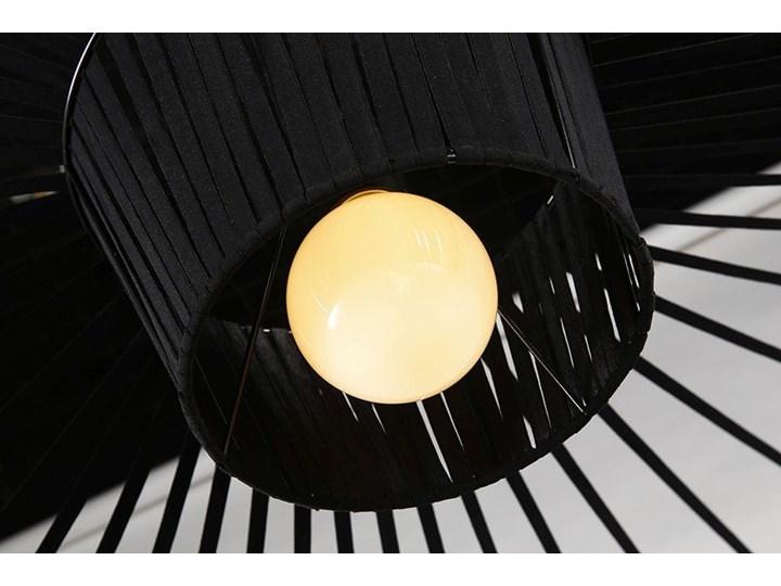 Lampa Capello z wygiętym kloszem insp. Vertigo Lampa druciana Metal Tworzywo sztuczne Stal Lampa z kloszem Styl Industrialny