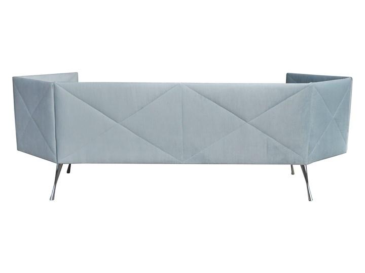 Sofa CRYSTAL nierozkładana Głębokość 57 cm Boki Z bokami