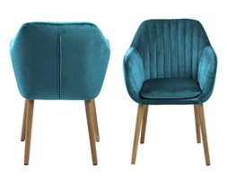 Krzesło Emilia Velvet butelkowa zieleń