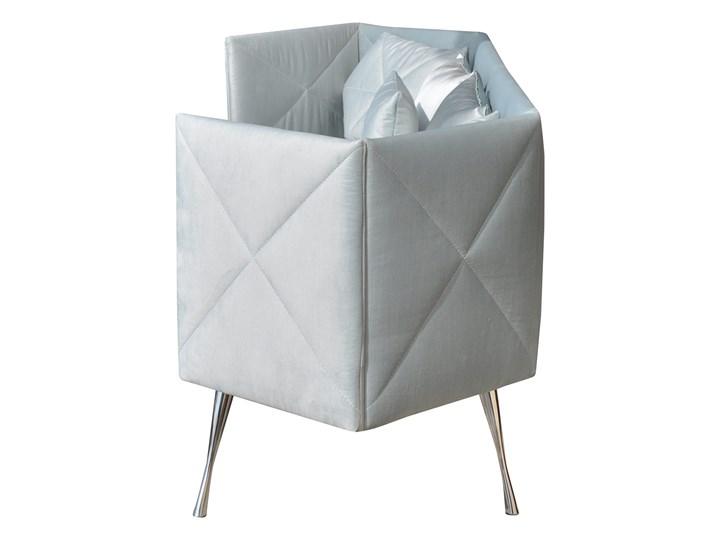 Sofa CRYSTAL nierozkładana Pomieszczenie Salon Głębokość 57 cm Boki Z bokami