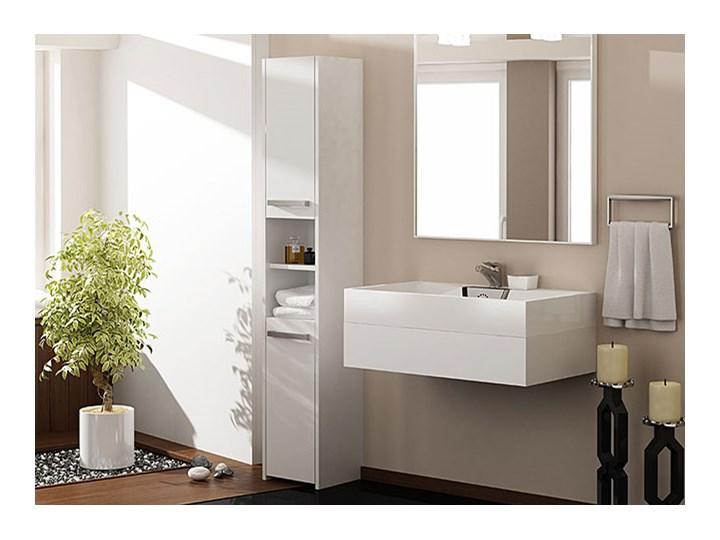 Szafka łazienkowa Tosca 2X - biała Szafki Szerokość 30 cm Kategoria Szafki stojące Wysokość 170 cm Stojące Kolor Biały