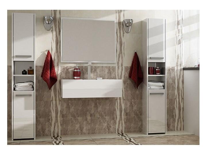 Szafka łazienkowa Tosca 2X - biała Wysokość 170 cm Stojące Szerokość 30 cm Szafki Kategoria Szafki stojące Kolor Biały