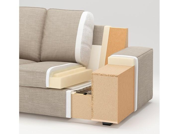 KIVIK Sofa 4-osobowa Wysokość 45 cm Stała konstrukcja W kształcie L Wysokość 83 cm Szerokość 318 cm Wykonanie siedziska Pianka