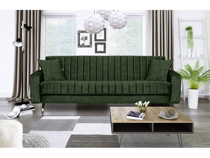 Sofa DIAMOND z funkcją spania Stała konstrukcja Funkcje Z pojemnikiem na pościel