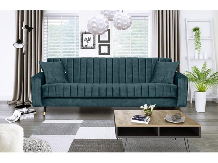 Sofa DIAMOND z funkcją spania Stała konstrukcja Kolor Miętowy