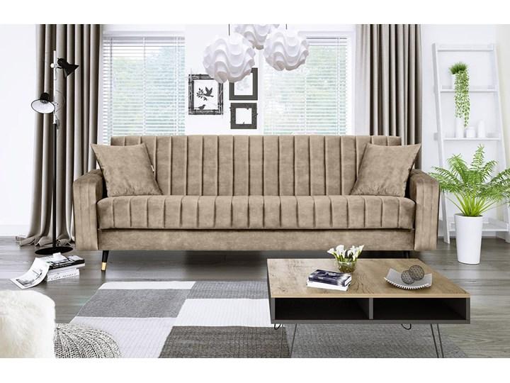 Sofa DIAMOND z funkcją spania Rozkładanie Rozkładana Stała konstrukcja Boki Z bokami