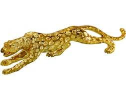 Drapieżna złota figura geparda 1013