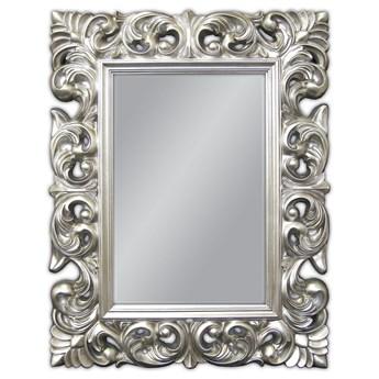 Lustro w srebrnej ramie 70x90 PU-049 PM