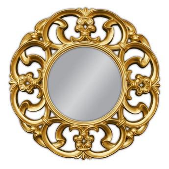 Ozdobne okrągłe lustro Ø 100 cm PU087
