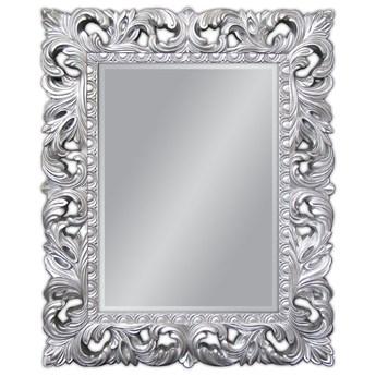 Lustro w srebrnej oprawie 80x100 PU-058