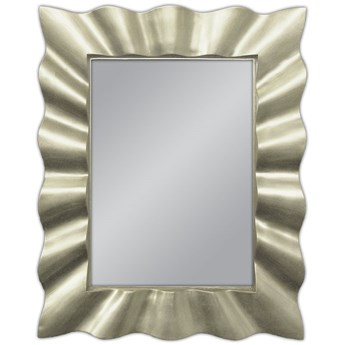 Lustro w promienistej srebrnej 80x100cm PU-117