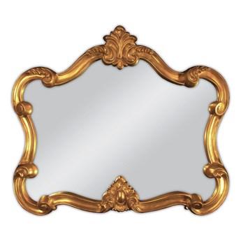 Ozdobne lustro w złotej ramie 70x80 PU-039