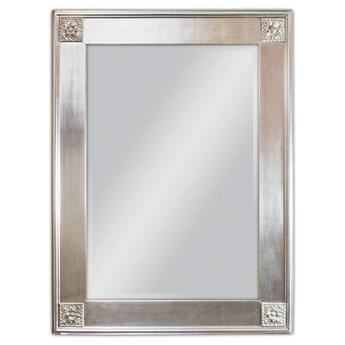 Lustro w srebrnej oprawie 85x114 SZ21242