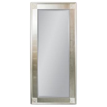 Lustro w srebrnej oprawie 80x180 SZ21242