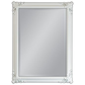 Lustro w białej oprawie 90x120 21023