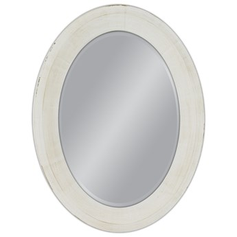 Owalne lustro prowansalskie 60x80 20818