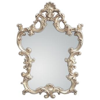 Ozdobne srebrne lustro 76x110 PU-275