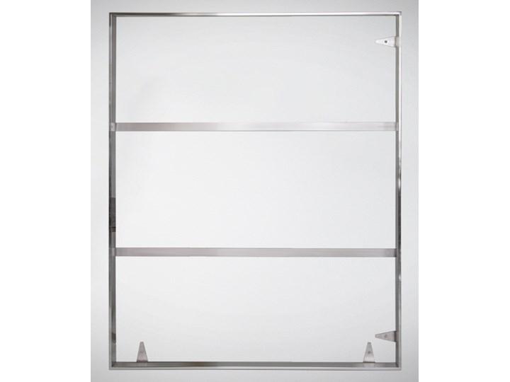 Srebrna oprawa obrazu wykonana z polerowanej stali nierdzewnej 91x121 TH12
