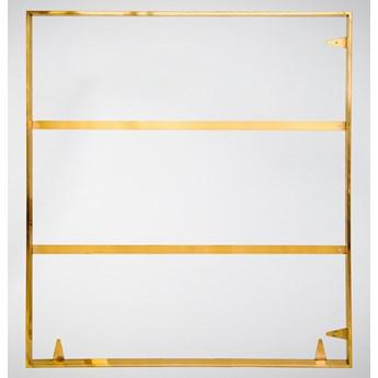 Złota oprawa obrazu wykonana z polerowanej stali nierdzewnej 121x121 TH13