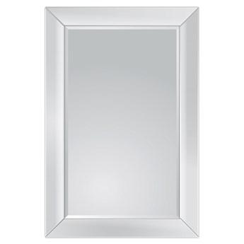 Minimalistyczne lustro w lustrzanej ramie 80x120 13tm127s