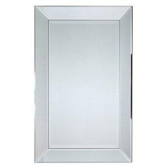 Minimalistyczne lustro w lustrzanej ramie 60x90 13tm127s