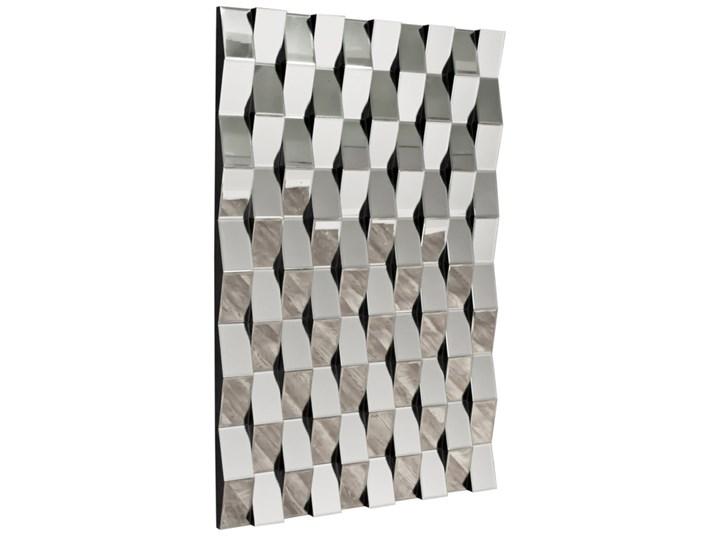 Lustrzana geometryczna dekoracja ATM019 Pomieszczenie Sypialnia Lustro bez ramy Ścienne Nieregularne Kolor Srebrny