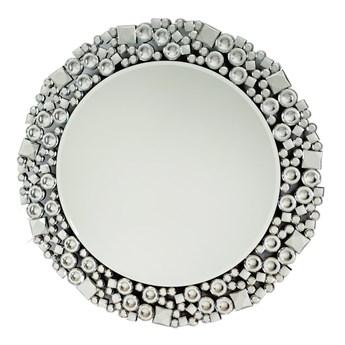 Okrągłe lustro z kryształkami w stylu glamour 13tm171M