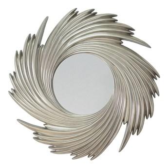 Srebrne lustro promienie słoneczne sunburst PU168