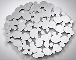 Lustro dekoracyjne z połączonych okrągłych lusterek 100x125 cm AGTM082