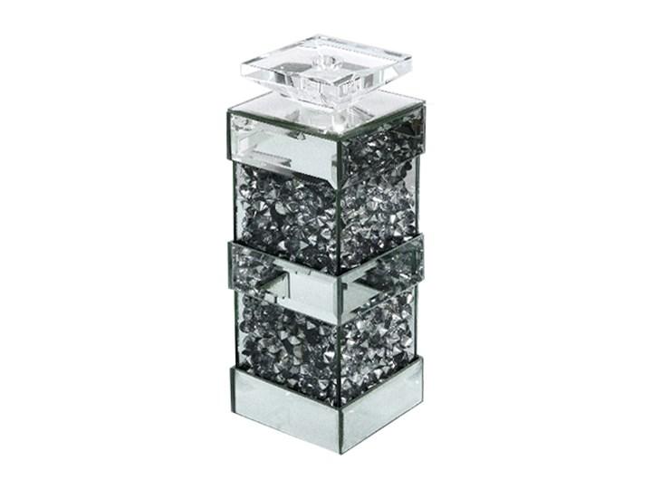 ŚWIECZNIK GD2017 10x10x30cm Kategoria Świeczniki i świece Kolor Srebrny