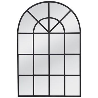Lustro w miedzianej metalowej ramie imitujące okno 15828 90 x 135 cm