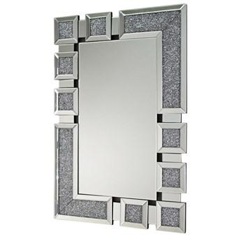 Lustro z kryształkami glamour 80x120cm 16TM1078